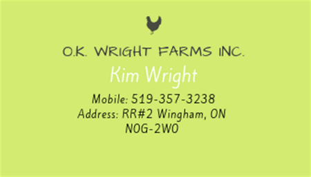 O.K. Wright Farms